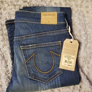 True Religion Sz 26 straight NWT